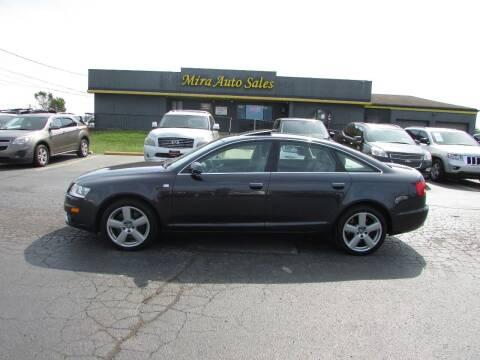 2008 Audi A6 for sale at MIRA AUTO SALES in Cincinnati OH