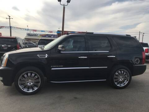 2007 Cadillac Escalade for sale at First Choice Auto Sales in Bakersfield CA