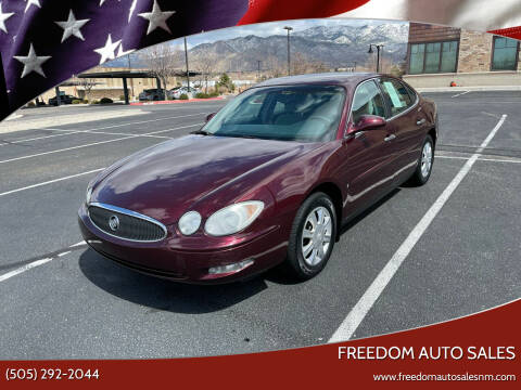2007 Buick LaCrosse for sale at Freedom Auto Sales in Albuquerque NM