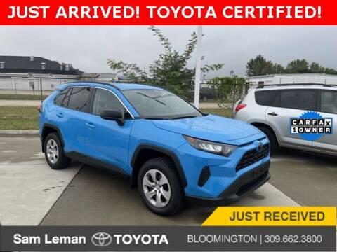 2020 Toyota RAV4 for sale at Sam Leman Toyota Bloomington in Bloomington IL