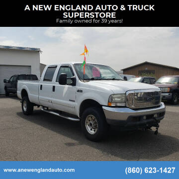 2002 Ford F-350 Super Duty for sale at A NEW ENGLAND AUTO & TRUCK SUPERSTORE in East Windsor CT