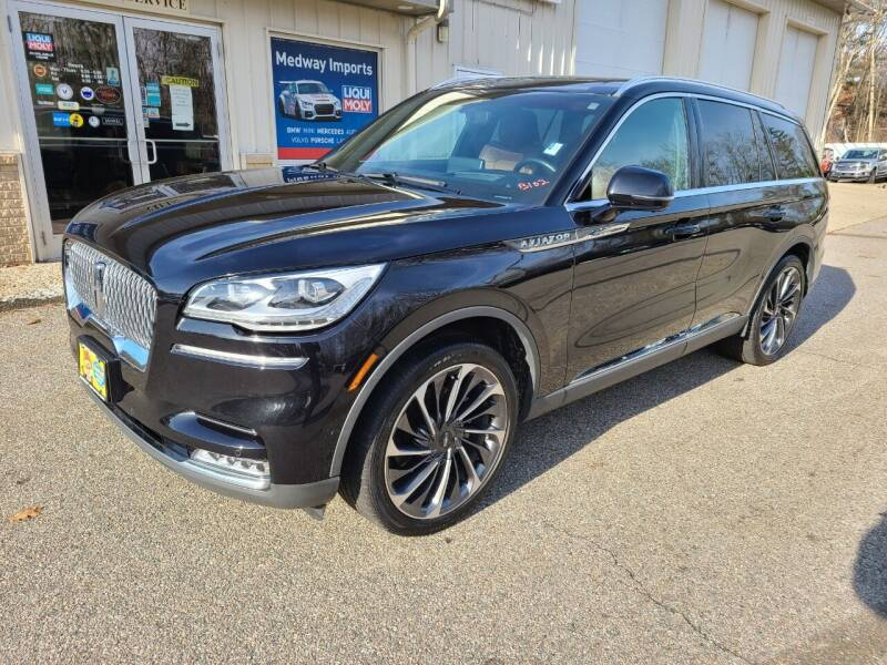 2020 Lincoln Aviator for sale at Medway Imports in Medway MA