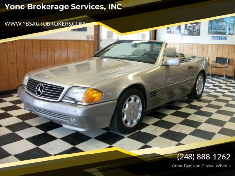 1992 Mercedes-Benz 500-Class for sale at Yono Brokerage Services, INC in Farmington MI