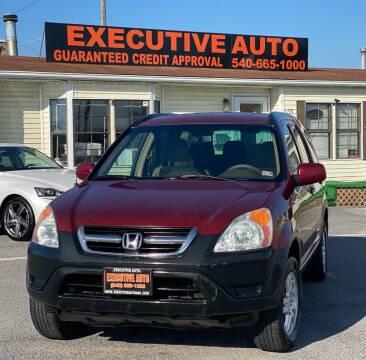 2003 Honda CR-V for sale at Executive Auto in Winchester VA