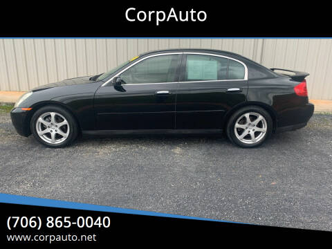 2004 Infiniti G35 for sale at CorpAuto in Cleveland GA