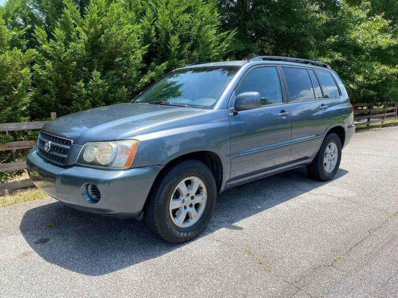 2003 Toyota Highlander for sale at Front Porch Motors Inc. in Conyers GA