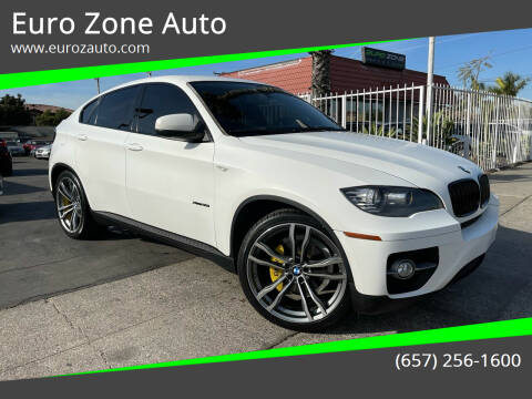 2012 BMW X6 for sale at Euro Zone Auto in Stanton CA