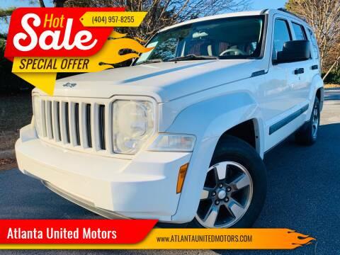2008 Jeep Liberty for sale at Atlanta United Motors in Buford GA