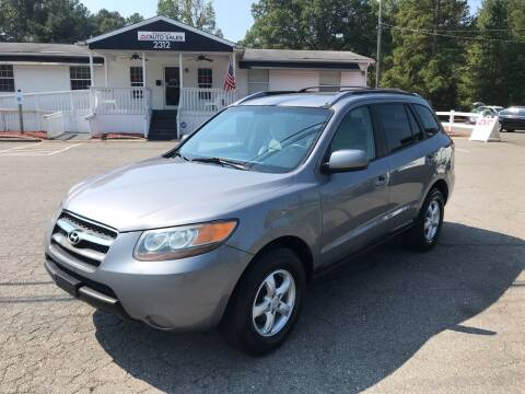 2007 Hyundai Santa Fe for sale at CVC AUTO SALES in Durham NC