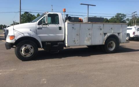 2001 Ford F-750 Super Duty for sale at Discount Auto Sales in Wichita KS