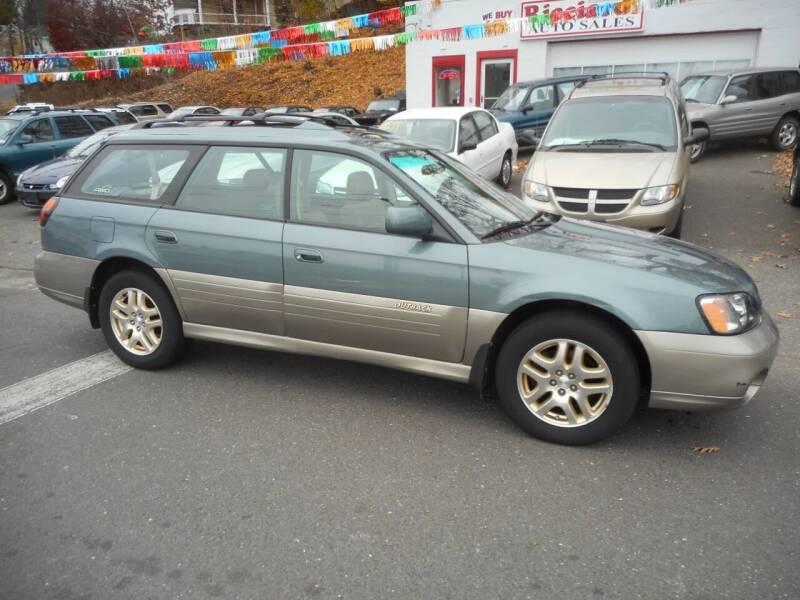 2001 Subaru Outback for sale at Ricciardi Auto Sales in Waterbury CT