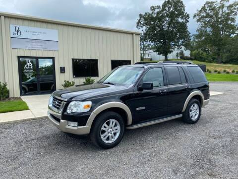 2008 Ford Explorer for sale at B & B AUTO SALES INC in Odenville AL