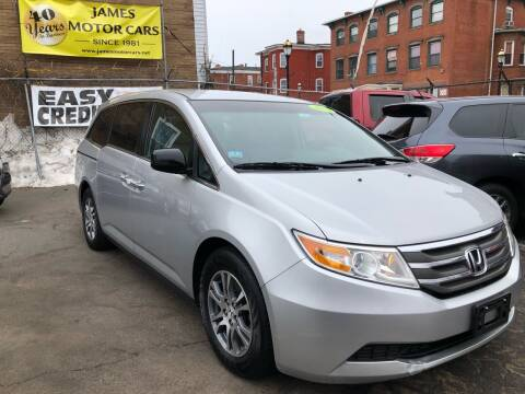 2013 Honda Odyssey for sale at James Motor Cars in Hartford CT