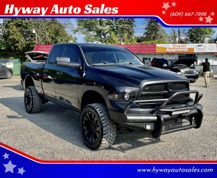 2011 RAM Ram Pickup 1500 for sale at Hyway Auto Sales in Lumberton NJ