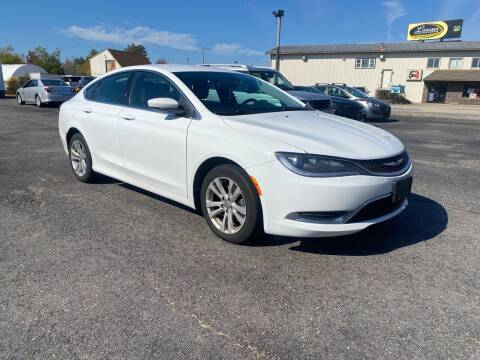 2015 Chrysler 200 for sale at Riverside Auto Sales & Service in Portland ME