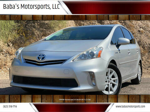 2013 Toyota Prius v for sale at Baba's Motorsports, LLC in Phoenix AZ