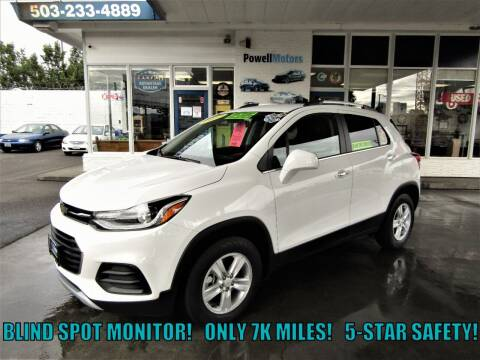 2017 Chevrolet Trax for sale at Powell Motors Inc in Portland OR