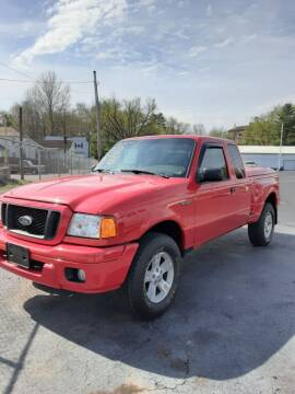 2004 Ford Ranger for sale at Bates Auto & Truck Center in Zanesville OH