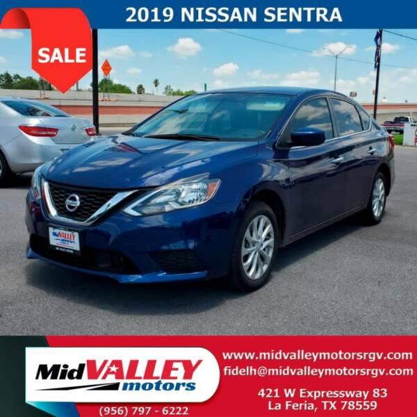 2019 Nissan Sentra for sale at Mid Valley Motors in La Feria TX