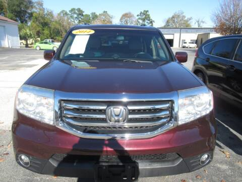 2014 Honda Pilot for sale at Maluda Auto Sales in Valdosta GA