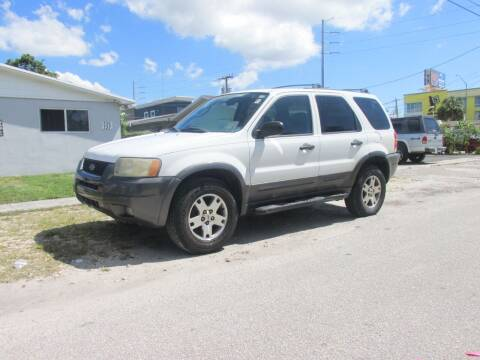 2004 Ford Escape for sale at TROPICAL MOTOR CARS INC in Miami FL