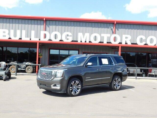 2019 GMC Yukon for sale at Bulldog Motor Company in Borger TX