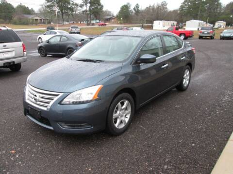 2014 Nissan Sentra for sale at B & B AUTO SALES INC in Odenville AL