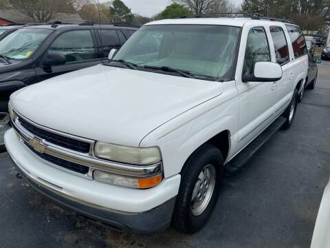 2001 Chevrolet Suburban for sale at Sartins Auto Sales in Dyersburg TN