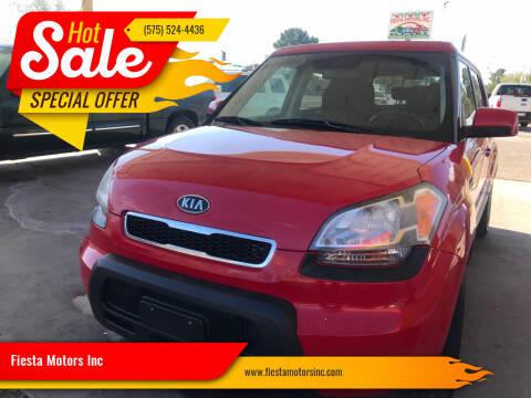 2011 Kia Soul for sale at Fiesta Motors Inc in Las Cruces NM