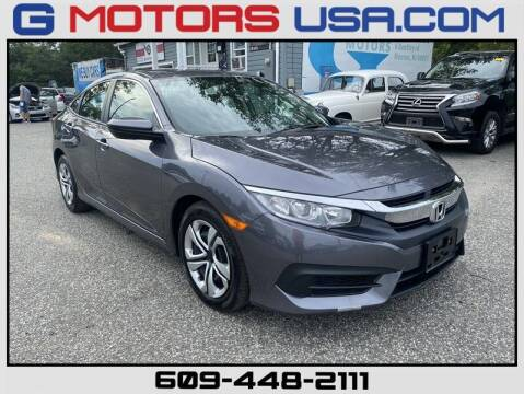 2017 Honda Civic for sale at G Motors in Monroe NJ
