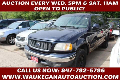 2001 Ford F-150 for sale at Waukegan Auto Auction in Waukegan IL