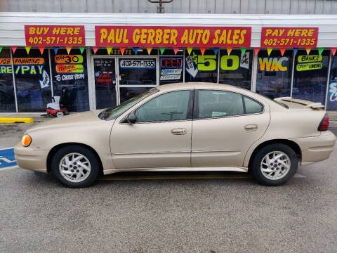 2004 Pontiac Grand Am for sale at Paul Gerber Auto Sales in Omaha NE