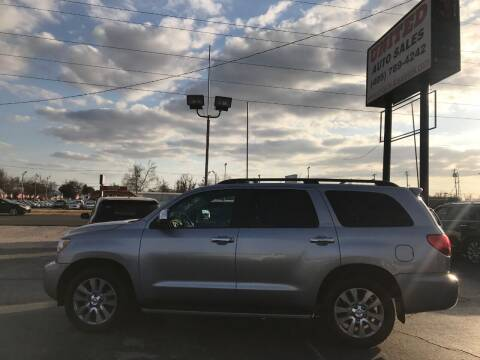 2010 Toyota Sequoia for sale at United Auto Sales in Oklahoma City OK