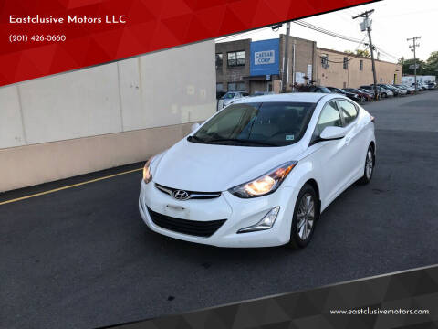 2016 Hyundai Elantra for sale at Eastclusive Motors LLC in Hasbrouck Heights NJ