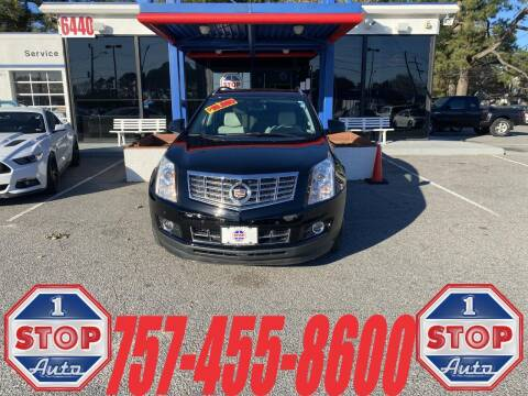 2015 Cadillac SRX for sale at 1 Stop Auto in Norfolk VA