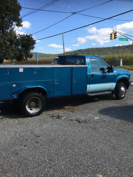 2002 Ford F-550 Super Duty for sale at A Better Deal in Port Murray NJ