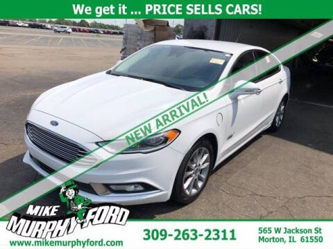2017 Ford Fusion Energi for sale at Mike Murphy Ford in Morton IL