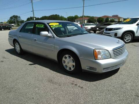 2002 Cadillac DeVille for sale at Kelly & Kelly Supermarket of Cars in Fayetteville NC