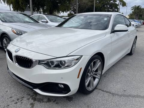 2016 BMW 4 Series for sale at DORAL HYUNDAI in Doral FL