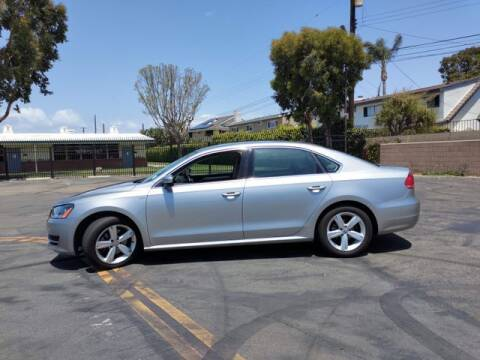 2014 Volkswagen Passat for sale at DNZ Auto Sales in Costa Mesa CA