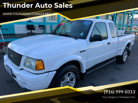 2003 Ford Ranger for sale at Thunder Auto Sales in Sacramento CA