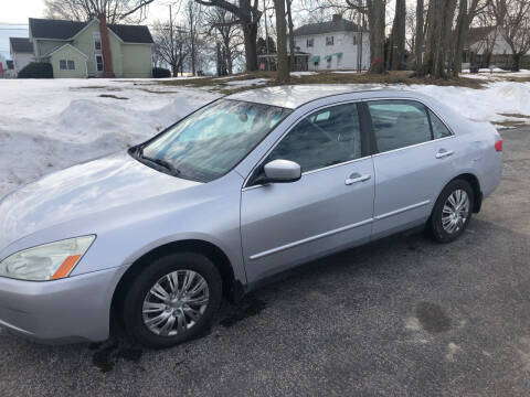 2005 Honda Accord for sale at Purpose Driven Motors in Sidney OH