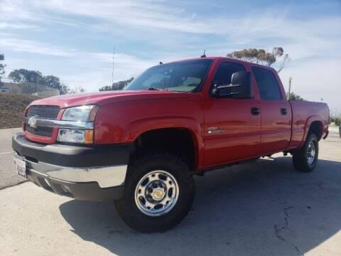 2003 Chevrolet Silverado 2500HD for sale at L.A. Vice Motors in San Pedro CA