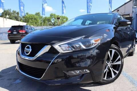 2018 Nissan Maxima for sale at OCEAN AUTO SALES in Miami FL