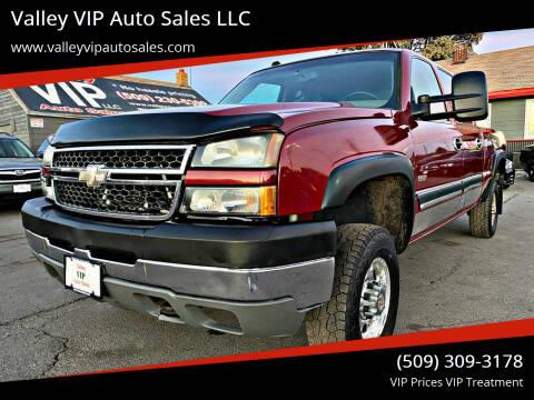 2005 Chevrolet Silverado 2500HD for sale at Valley VIP Auto Sales LLC in Spokane Valley WA