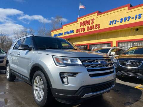 2018 Ford Explorer for sale at Popas Auto Sales in Detroit MI