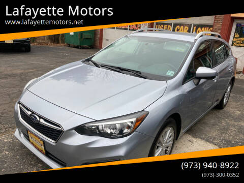 2017 Subaru Impreza for sale at Lafayette Motors in Lafayette NJ