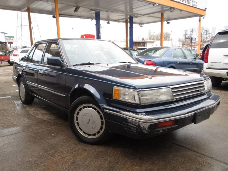 1988 Nissan Maxima for sale at PR1ME Auto Sales in Denver CO