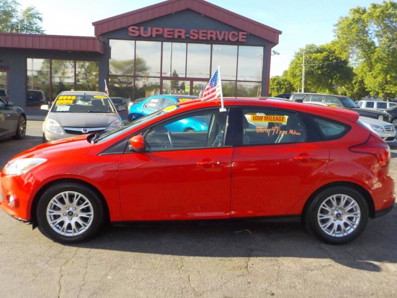 2012 Ford Focus for sale at Super Service Used Cars in Milwaukee WI