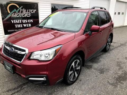 2017 Subaru Forester for sale at HILLTOP MOTORS INC in Caribou ME